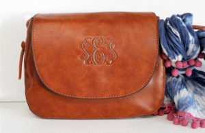 The Monogram Shoulder Bag from Krafty Chix