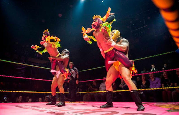 Win tickets to Lucha VaVOOM's Quinceanera (Timothy Norris).