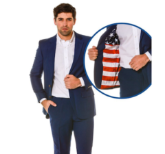 The Madison American Flag Blazer from Shinesty