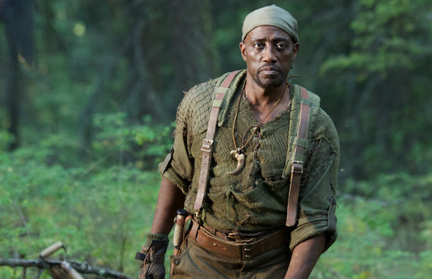 Wesley Snipes stars as the Hunter in The Recall.