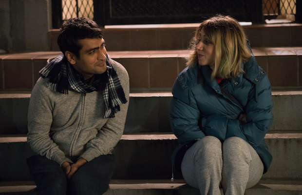 Kumail Nanjiani and Zoe Kazan in The Big Sick (Sarah Shatz)
