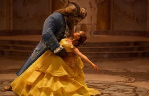 Dan Stevens as Beast and Emma Watson as Belle in Disney's Beauty and the Beast, now available on Blu-ray. (Walt Disney Studios)