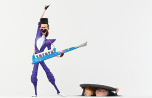 Trey Parker voices Balthazar Bratt in Despicable Me 3. (Illumination Entertainment and Universal Pictures)