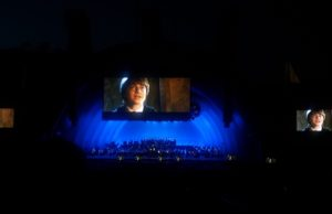 Angelenos cheered, laughed and applauded every scene of Harry Potter and the Chamber of Secrets at the Bowl.