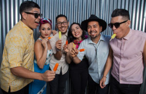 Win tickets to see Las Cafeteras at the Fonda.