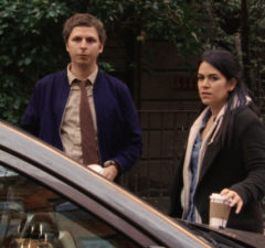 Michael Cera and Abbi Jacobson in Person to Person (Magnolia Pictures)