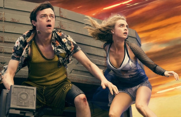 Dane DeHaan and Cara Delevingne star in Valerian and the City of a Thousand Planets. (Vikram Gounassegarin)