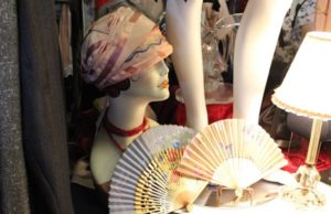 Guests admired collections at the Vintage Bazaar at the Art Deco Festival. (Prianthi Masilamani/LOL-LA)