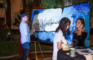 Artopia was bursting with creative energy, great music, refreshing drinks and one-of-a-kind art exhibits. (Levan TK/LA Weekly)