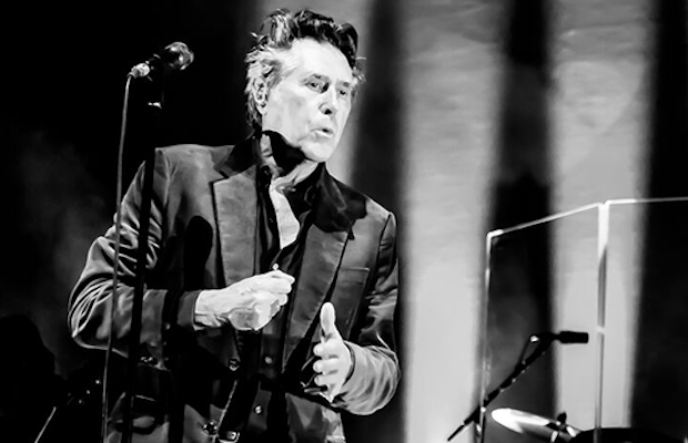 Bryan Ferry had the Hollywood Bowl standing up in applause.