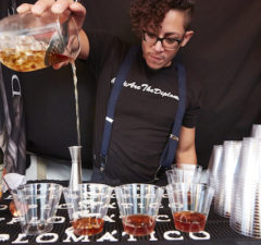 From cocktails to scrumptious bites, there's plenty to be sampled at Los Angeles Food & Wine Festival. (Stefanie Parkinson)