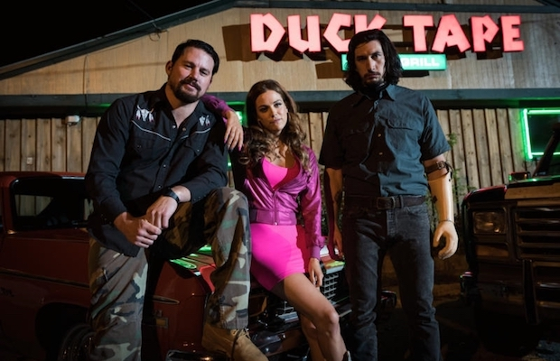 Channing Tatum, Riley Keough and Adam Driver in Steven Soderbergh's Logan Lucky