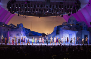 """""""Mamma Mia!"""" in July 2017 at the Hollywood Bowl (Craig T. Mathew and Greg Grudt/Mathew Imaging)"""