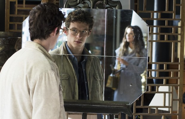 Callum Turner and Kate Beckinsale in The Only Living Boy in New York