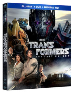 Transformers Last Knight Box Art