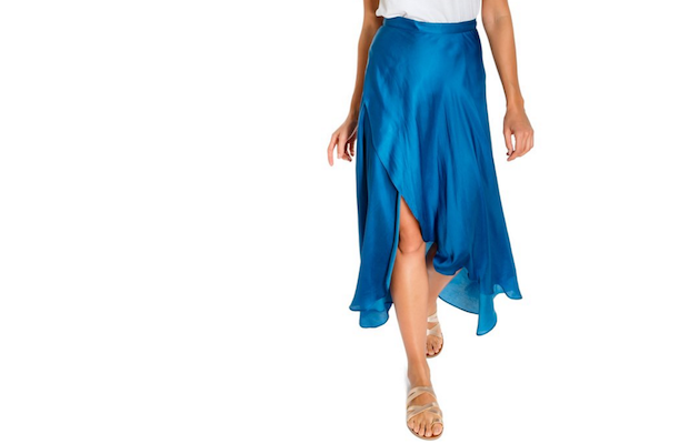Win a Laney Modal Wrap Skirt from Virtue + Vice.