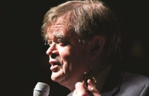 Win tickets to see Garrison Keillor at the Theatre at the Ace Hotel.