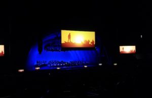 Fans enjoyed experiencing Raiders of the Lost Ark and its amazing soundtrack live at Hollywood Bowl. (Evan Solano/LOL-LA)