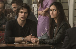 Dylan O'Brien and Shiva Negar in American Assassin (Christian Black)