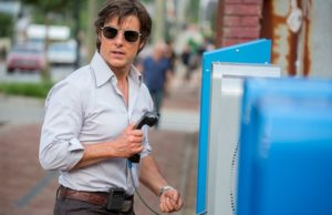 Tom Cruise stars as Barry Seal in American Made. (David James/Universal Studios)