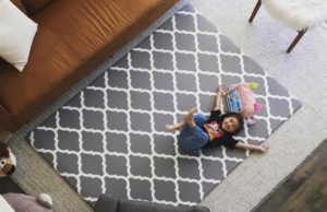 Comfort Design Mats add flair to any space at home while being safe and comfy for kids.