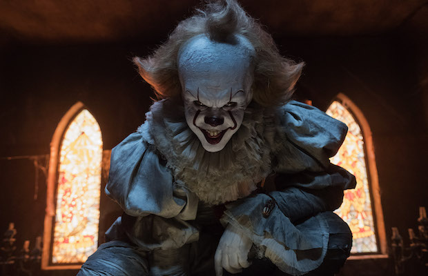 Bill Skarsgård as Pennywise in It (Warner Bros.)