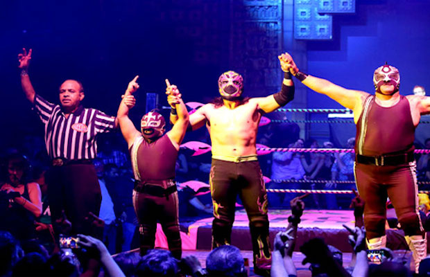 Win tickets to Lucha VaVOOM's Halloween Spectacle.