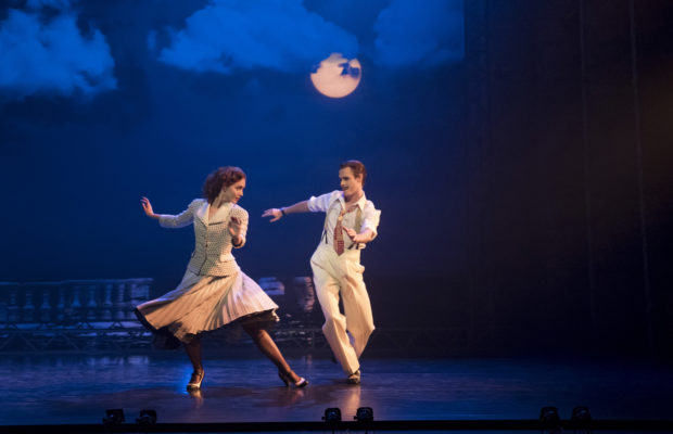 "Ashley Shaw and Sam Archer in ""The Red Shoes"" (Johan Persson)"