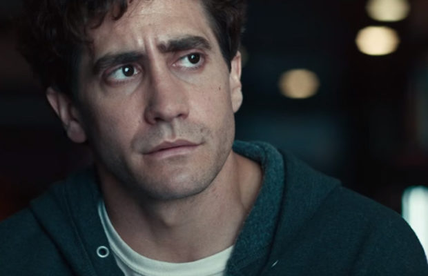 Jake Gyllenhaal as Jeff Bauman in  Stronger  (Lionsgate)