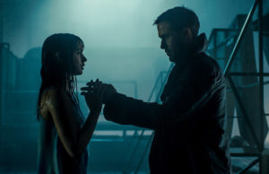 Joi (Ana de Armas) and K (Ryan Gosling) in Blade Runner 2049 (Warner Bros.)