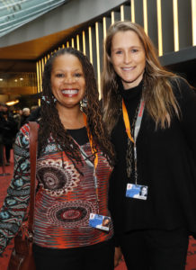 Directors Daresha Kyi and Catherine Fund (Brigitte Dummer/Berlinale 2017)