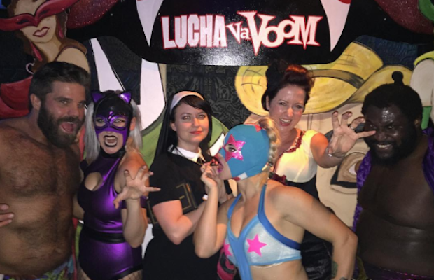 A Lucha VaVOOM Halloween is a dead man's party like no other.