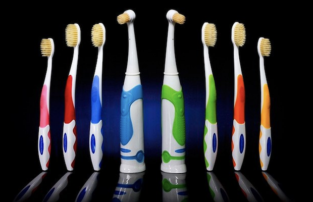 Mouth Watchers are gentle on your teeth, but leave them feeling like they were professionally cleaned.