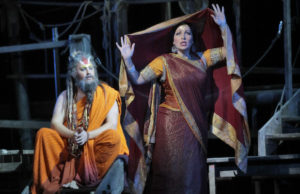 Nicholas Brownlee and Nino Machaidze in LA Opera's Production of The Pearl Fishers (Ken Howard)