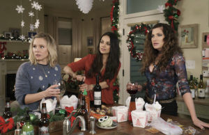 Kristen Bell, Mila Kunis and Kathryn Hahn star in A Bad Mom's Christmas.