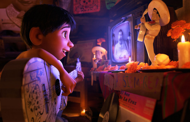Miguel (Anthony Gonzalez) longs to be a musician in Coco. (Disney/Pixar)