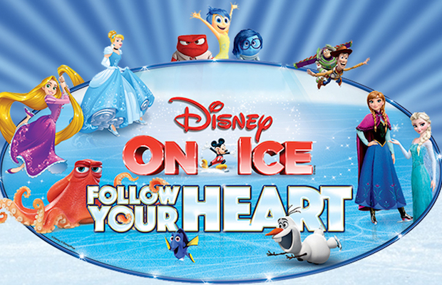 """With shows in several cities throughout the southland, there are so many chances to see Disney On Ice's """"Follow Your Heart."""""""