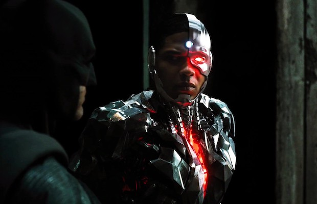 Ray Fisher as Cyborg in Justice League (Warner Bros.)