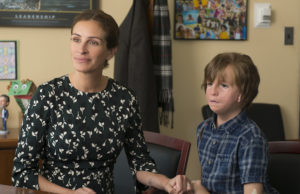 Julia Roberts and Jacob Tremblay star in Wonder. (Lionsgate)
