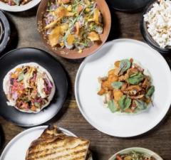 Dine on an array of gourmet delights at Woodley Proper in Encino.