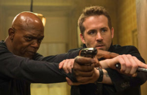 Samuel L. Jackson and Ryan Reynolds star in The Hitman's Bodyguard . (Lionsgate)