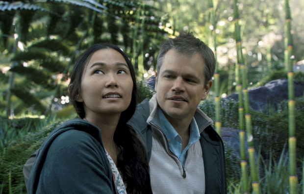 Hong Chau and Matt Damon star in Downsizing. (Paramount Pictures)