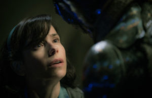 Sally Hawkins and Doug Jones in The Shape of Water (Kerry Hayes)