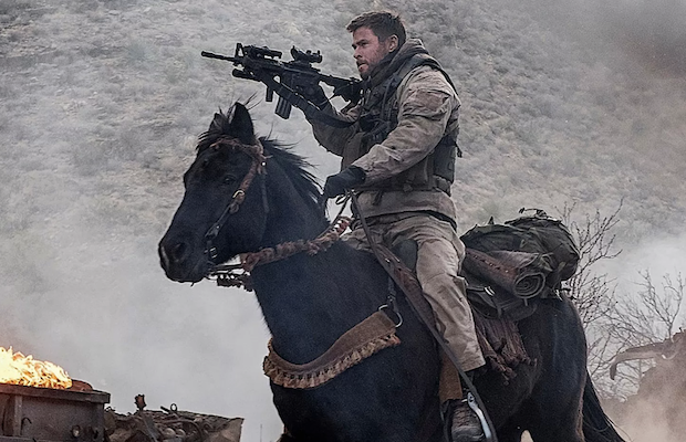 Chris Hemsworth as Captain Mitch Nelson in 12 Strong