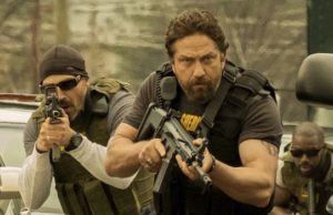 Gerard Butler is Big Nick in Den of Thieves. (STXfilms)