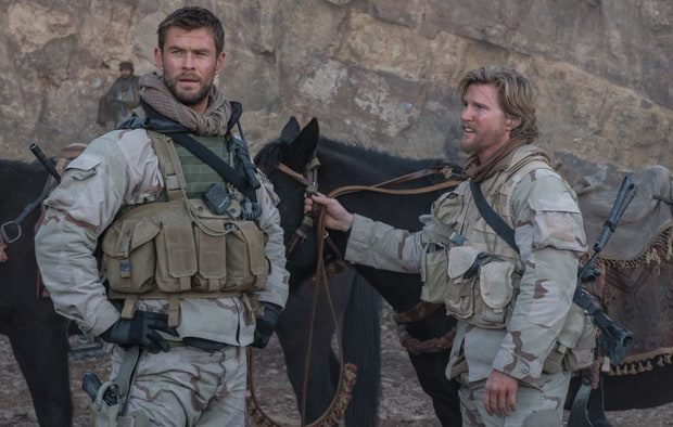 Chris Hemsworth stars as Captain Mitch Nelson in 12 Strong. (Warner Bros. Pictures)