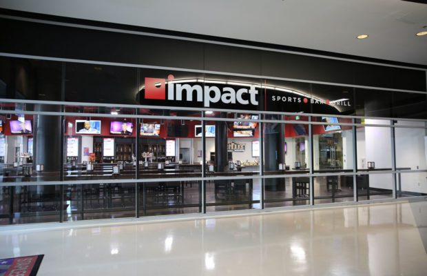 Impact Sports Bar & Grill inside STAPLES Center in L.A. (Courtesy photo)