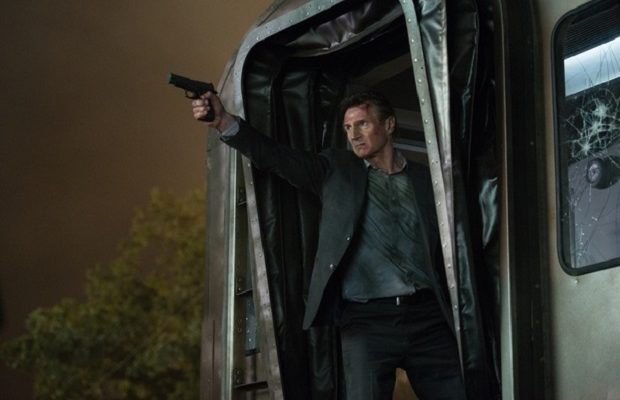 Liam Neeson stars in The Commuter (Jay Maidment)