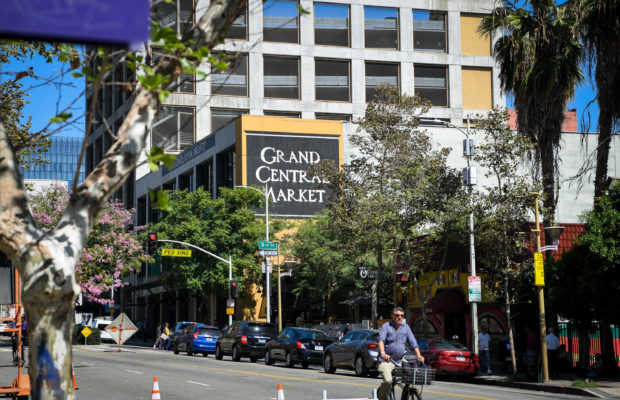 Grand Central Market is located in downtown Los Angeles. (Courtesy of Michael Owen Baker)