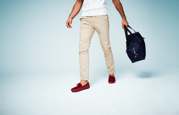 Swims' Deep Red Loafers (Courtesy photo)